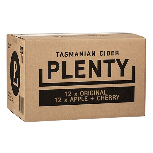 Plenty Tasmanian Cider Mixed Carton